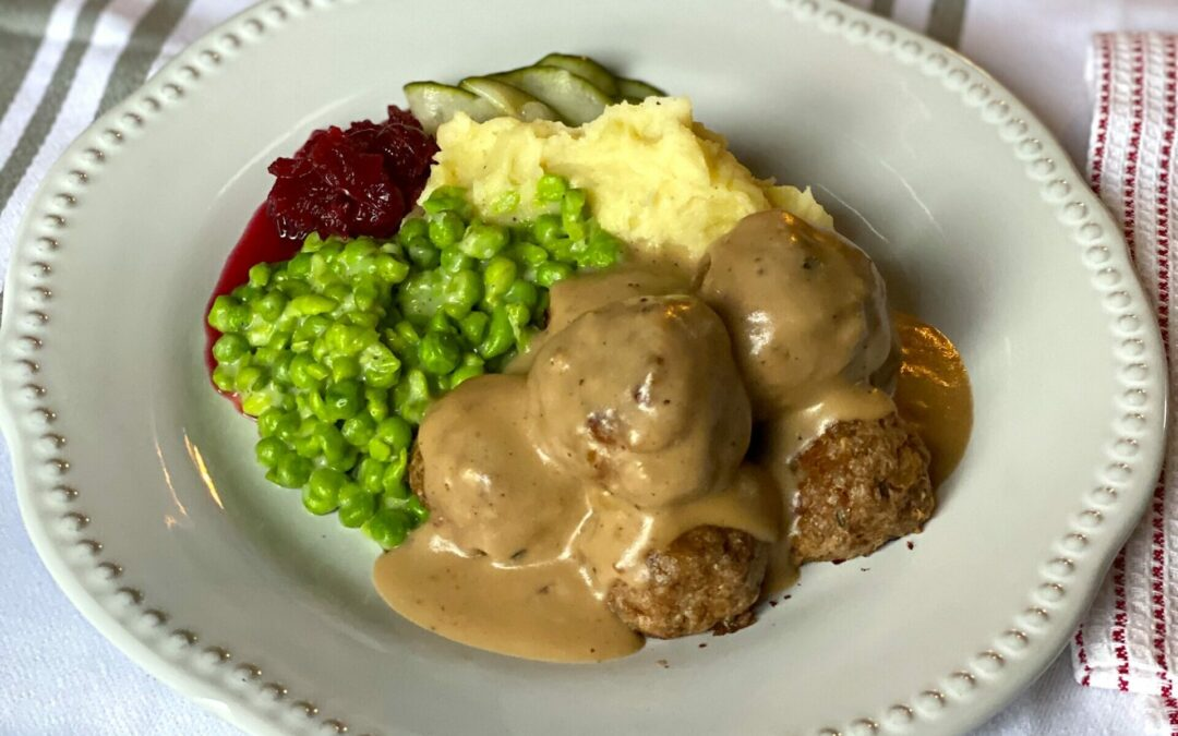 Meatless Norwegian Meatballs