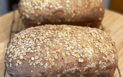 Havrebrød – Norwegian Oat Bread