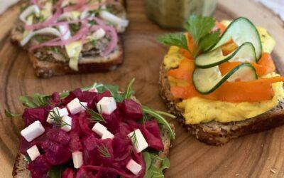 Scandinavian Open-Face Sandwiches